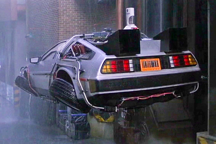 Delorean Flying Car History of The Flying Car