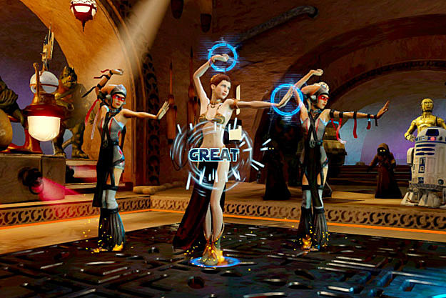 Yes, Thats Han Solo Dancing in the New Kinect Star Wars Game