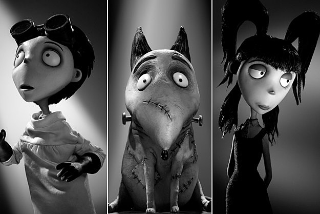frankenweenie character images introduce the cast