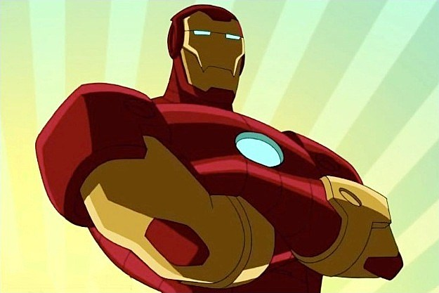 Iron man animated avengers - photo#27