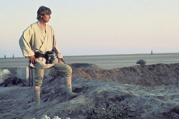 It's Luke!