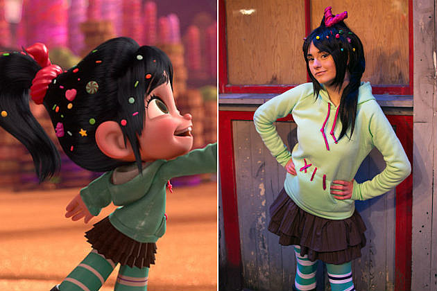 Cosplay of the day wreck it ralph s vanellope is pretty schweet