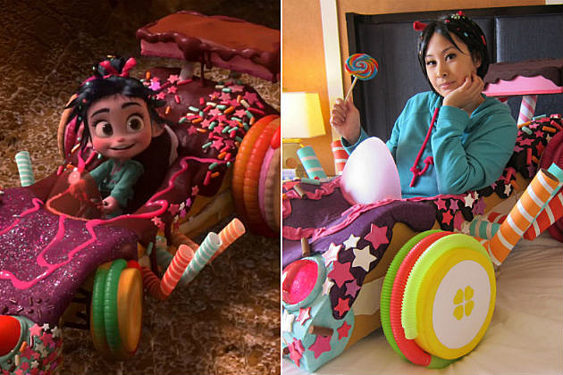 Cosplay of the Day: Vanellope Von Schweetz Has a Pretty Sweet Ride