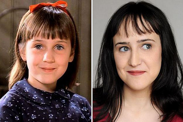 What are the charecters in matilda movie?