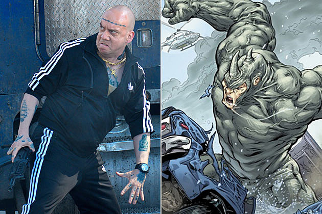 'Amazing Spider-Man 2' Photos Show the Rhino on a Rampage