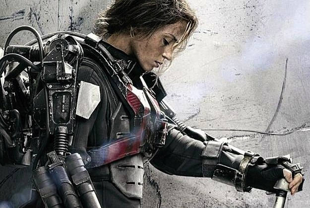 Emily Blunt Edge Of Tomorrow Poster The Wrap Up Emily Blunt Goes
