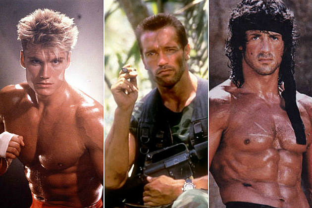 '80s Action Stars Then...