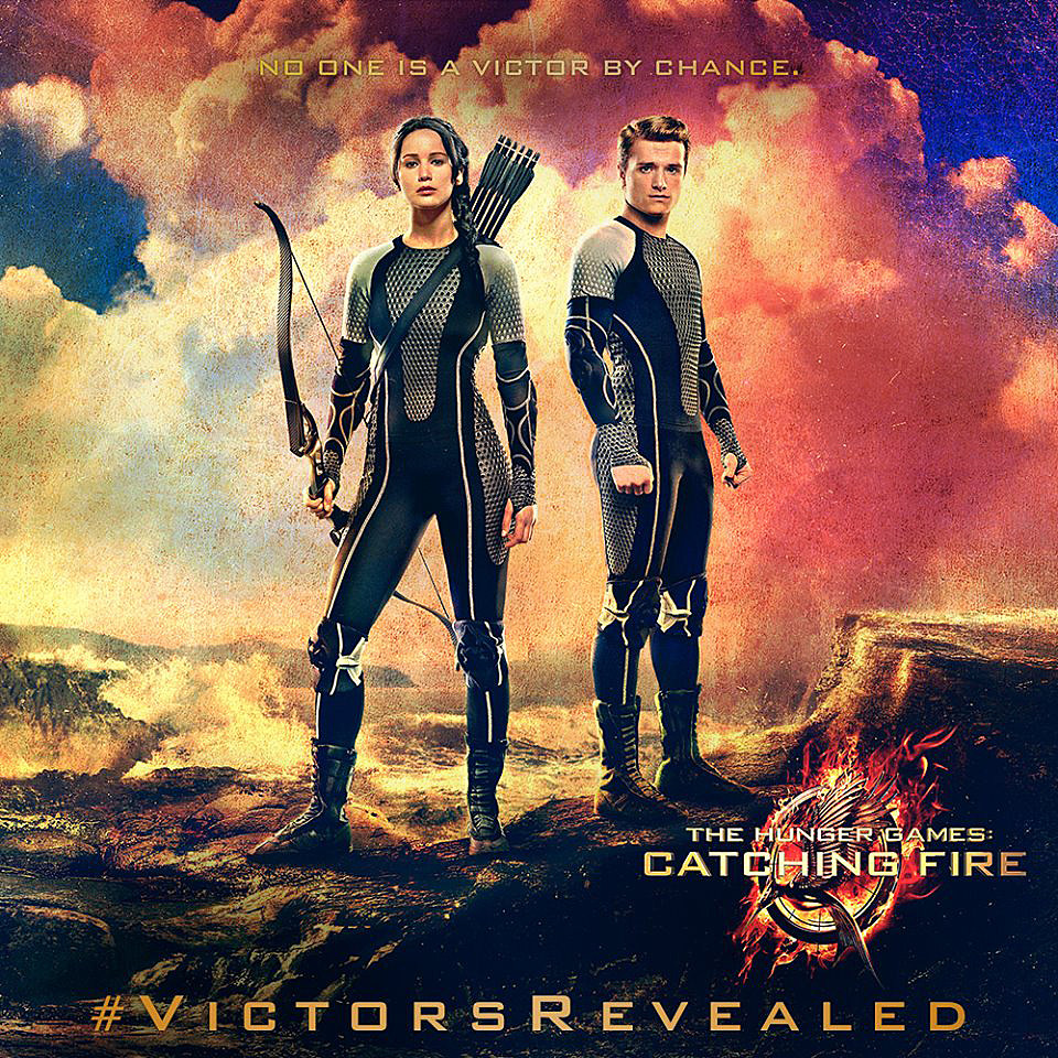 Catching Fire Tributes Posters 'catching Fire' Poster Here