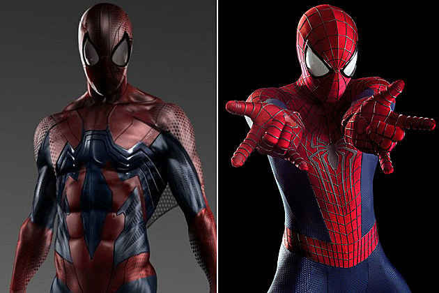Unused 'Spider-Man' Costumes Reveal a Very Different Look