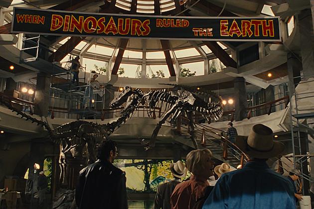 Original Concept Art For Jurassic World 'jurassic Park 4' Concept Art