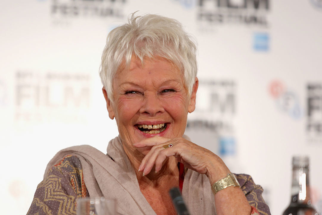 Judi Dench Has a Wacky Tattoo in a Pretty Special Place