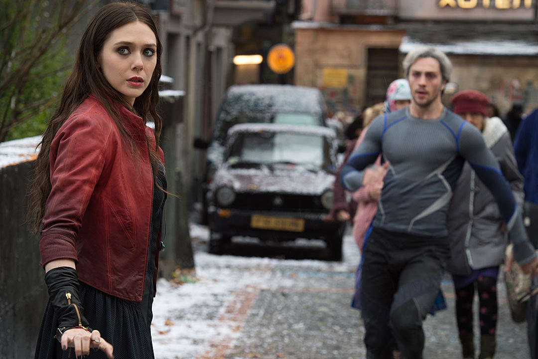 Quicksilver And Scarlet Witch Lovers With Scarlet Witch and