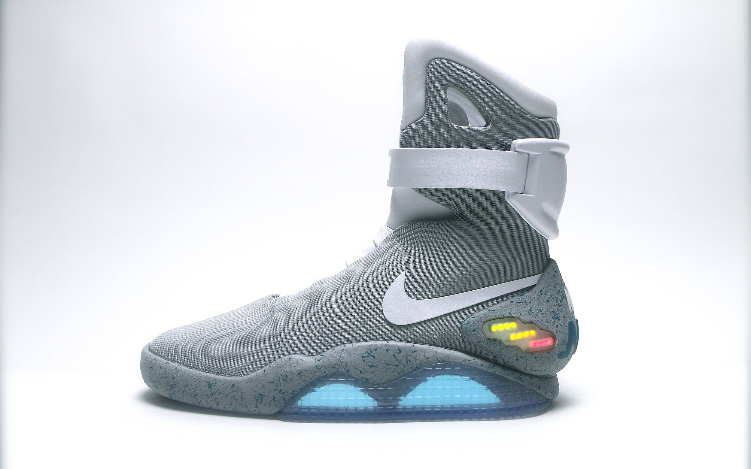 nike officially reveals self-lacing 'back to the future' sneakers