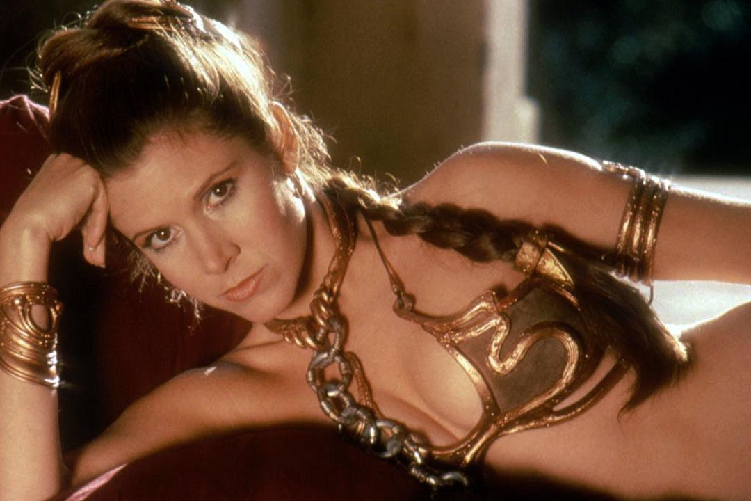 Wars bikini leia star princess