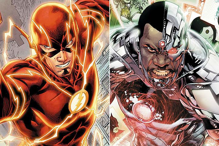 شایعه : کارکتر cyborg در فیلم اختصاصی The flash حضور دارد!!