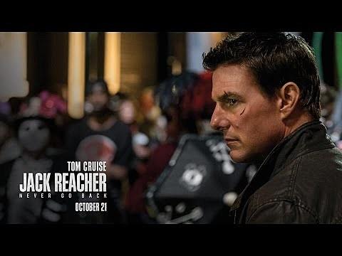 Jack Reacher: Never Go Back Watch Movie Bluray 2016 Online
