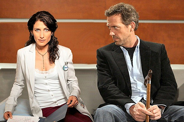 House - Lisa Edelstein and Hugh Laurie
