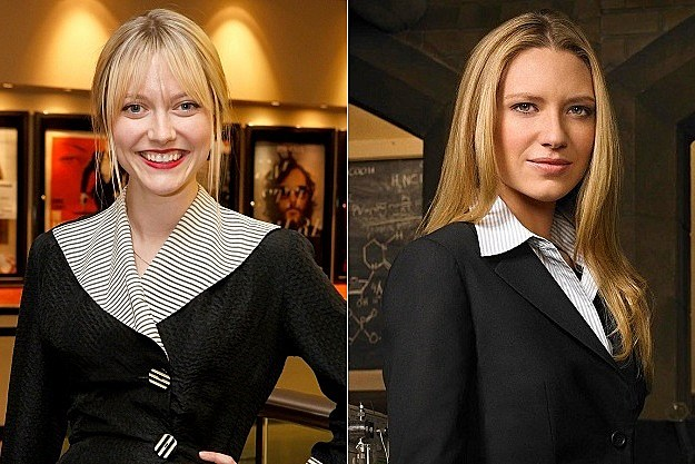 Fringe  Georgina Haig and Anna Torv