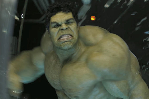 The Hulk in 'The Avengers'
