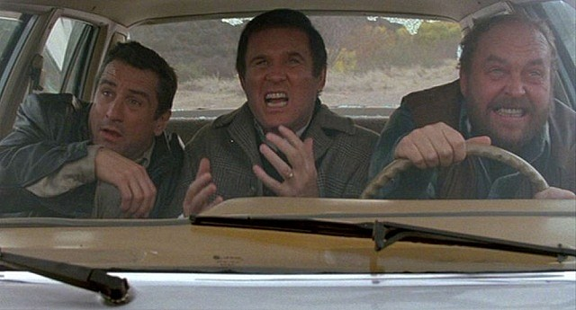 Robert De niro Charles Grodin and John Ashton in 'Midnight Run'