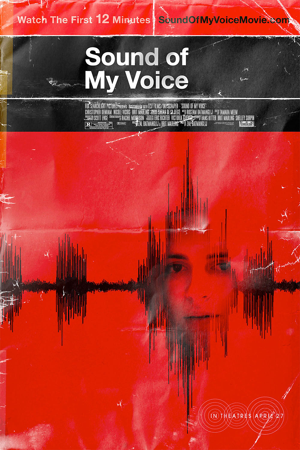 first official poster for sound of my voice pulls us in
