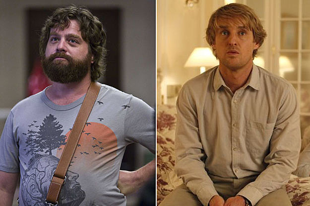 Zach Galifianakis and Owen Wilson