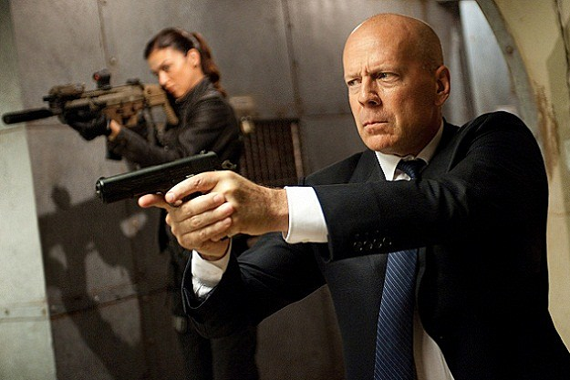 Bruce Willis and Adrianne Palicki in 'G.I. Joe: Retaliation'