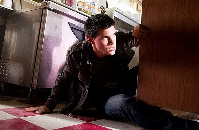 Taylor Lautner in 'Abduction'