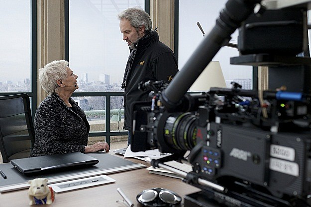 Judi Dench, Sam Mendes on 'Skyfall'