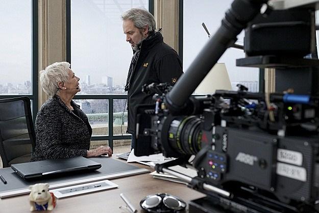 Judi Dench, Sam Mendes on 'Skyfall'