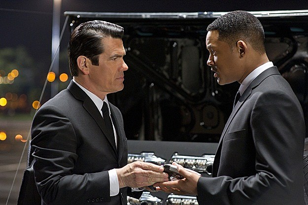 Josh Brolin and Will Smith in 'Men in Black III'