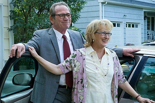 Tommy Lee Jones and Meryl Streep in 'Hope Springs'