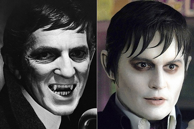 Jonathan Frid Johnny Depp