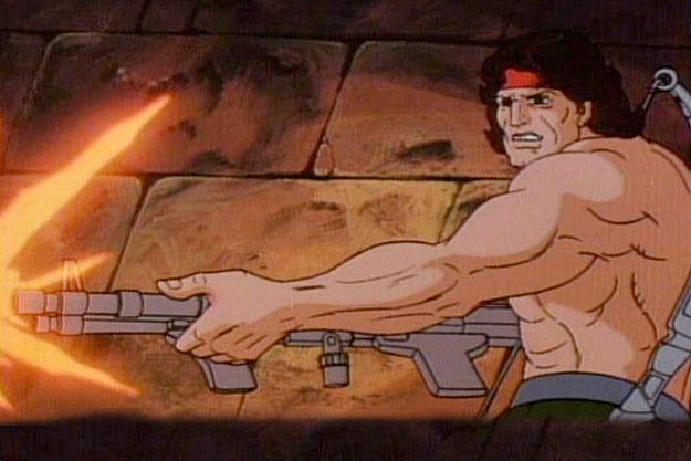 Rambo The Animated Series