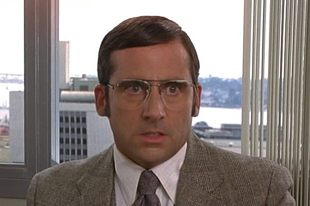 Steve Carell in 'Anchorman'