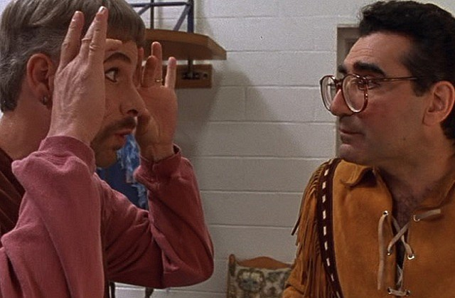 Christopher Guest and Eugene Levy in 'Waiting for Guffman'