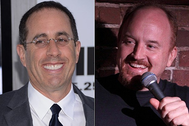 Jerry Seinfeld Louis CK