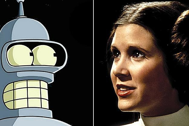 Bender, Princess Leia