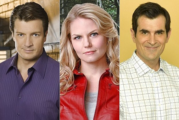 Castle Once Upon a Time Modern Family
