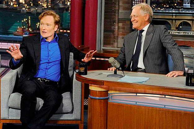 Conan on Letterman