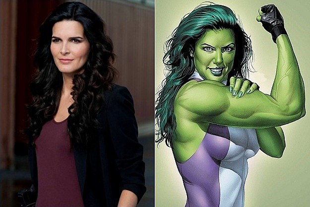 Angie Harmon She Hulk