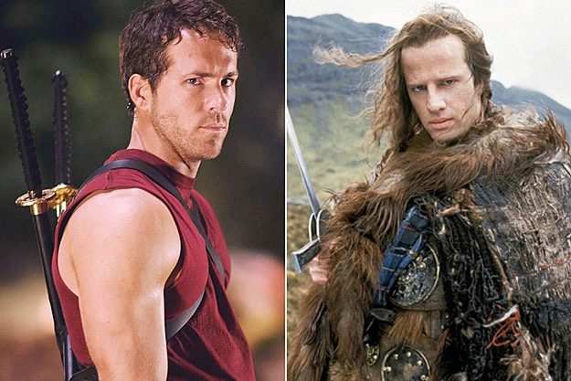 Ryan Reynolds Highlander