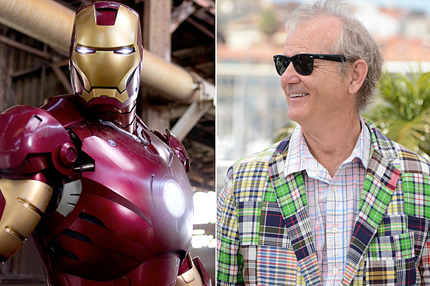 Iron Man Bill Murray
