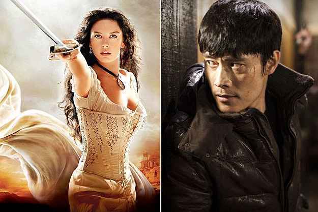 Catherine Zeta Jones Byung-Hun Lee