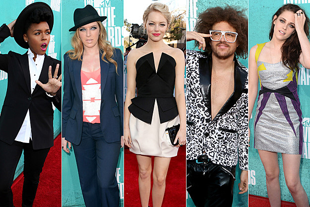 2012 MTV Movie Awards Best and Worst Dressed