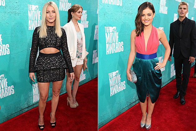 2012 MTV Movie Awards Worst Dressed - Julianne Hough and Lucy Hale