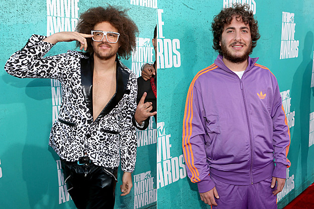 2012 MTV Movie Awards Worst Dressed - LMFAO and Oliver Cooper