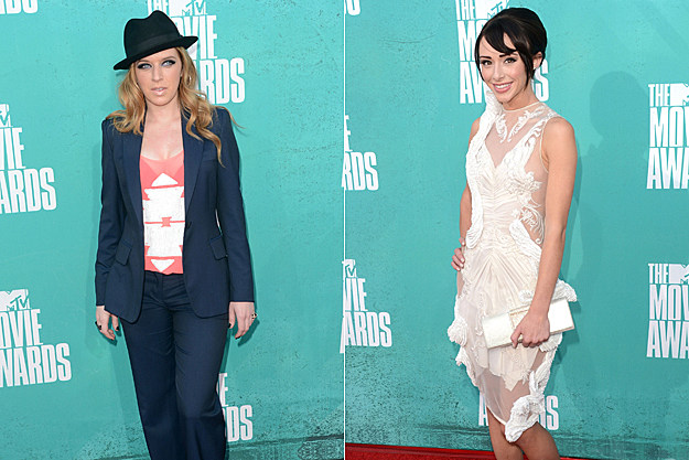 2012 MTV Movie Awards Worst Dressed - ZZ Ward and Lauren Mcknight