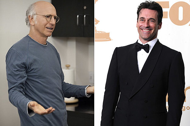 Larry David Jon Hamm