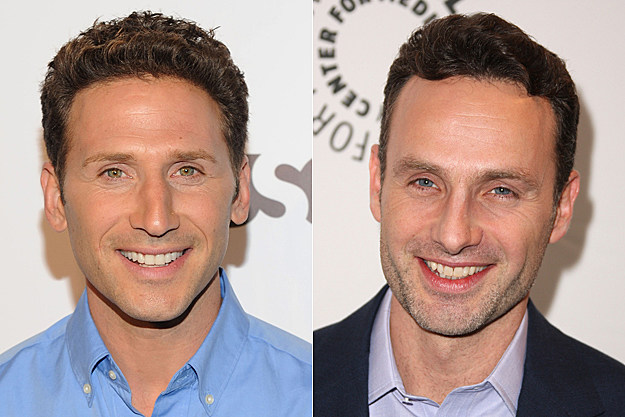 Mark Feuerstein + Andrew Lincoln